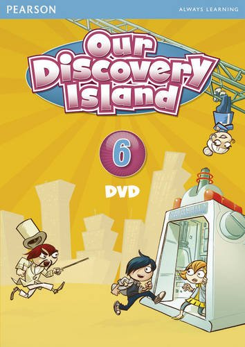 Our Discovery Island American Edition DVD 6  2011 edition cover