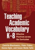 Teaching Academic Vocabulary K-8 Effective Practices Across the Curriculum  2013 edition cover