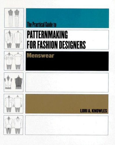 Practical Guide to Patternmaking for Fashion Designers Menswear  2005 edition cover