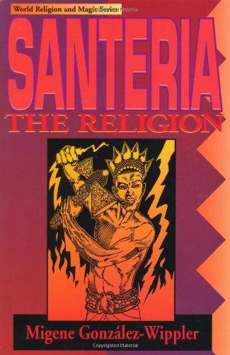 Santeria The Religion 2nd 1994 edition cover