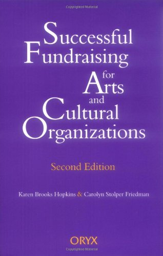 Successful Fundraising for Arts and Cultural Organizations  2nd 1997 edition cover