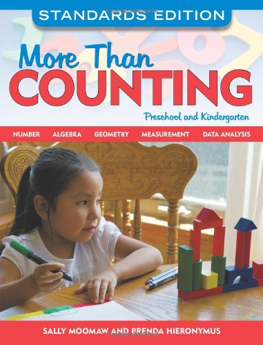 More Than Counting Math Activities for Preschool and Kindergarten  2010 edition cover