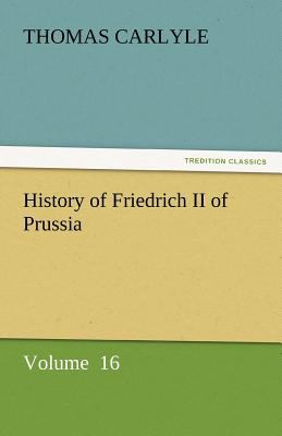 History of Friedrich II of Prussi  N/A 9783842442290 Front Cover