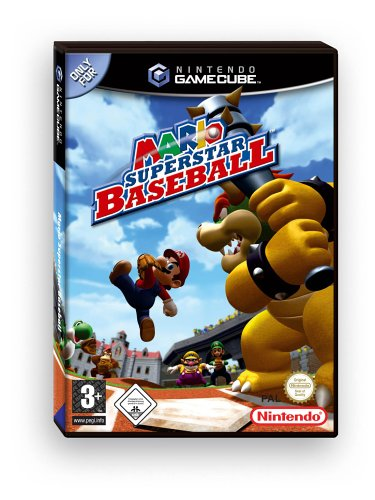 Mario Superstar Baseball GameCube artwork