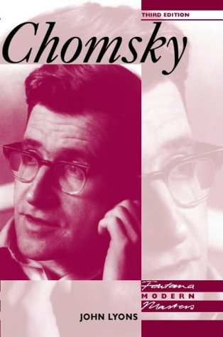 Chomsky (Modern Masters) N/A edition cover