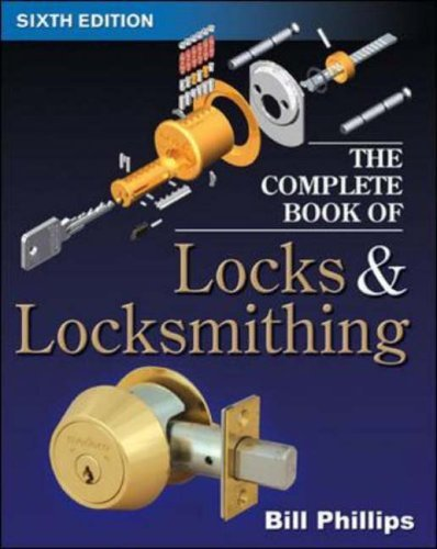 Complete Book of Locks and Locksmithing  6th 2006 (Revised) edition cover