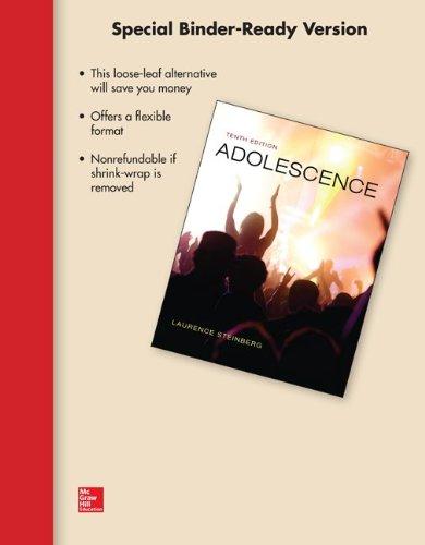 Adolescence:   2013 edition cover
