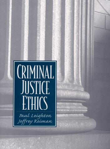 Criminal Justice Ethics   2001 edition cover