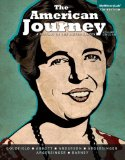 American Journey A History of the United States, Volume 2, Black and White Plus NEW MyHistoryLab with Pearson EText -- Access Card Package 7th 2015 edition cover