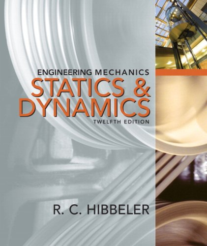 Engineering Mechanics Combined Statics and Dynamics 12th 2010 edition cover