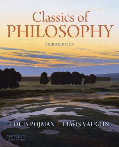 Classics of Philosophy  3rd 2011 edition cover