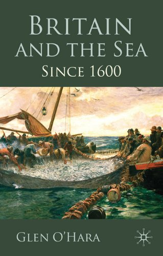 Britain and the Sea Since 1600  2010 9780230218291 Front Cover