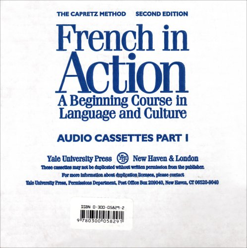 French in Action A Beginning Course in Language and Culture 2nd 1994 edition cover