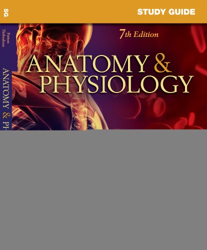 Study Guide for Anatomy and Physiology  7th 2009 edition cover