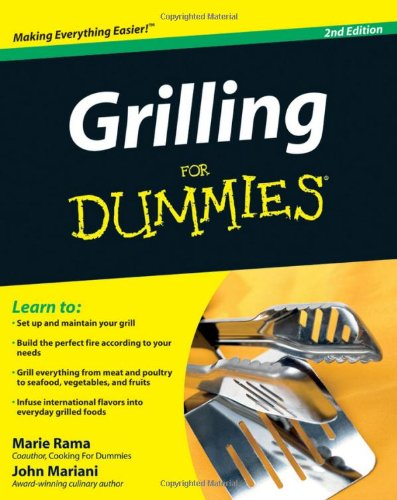 Grilling for Dummies  2nd 2009 edition cover