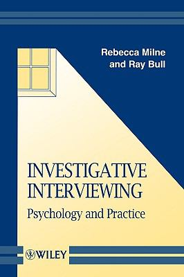 Investigative Interviewing Psychology and Practice  1999 9780471987291 Front Cover