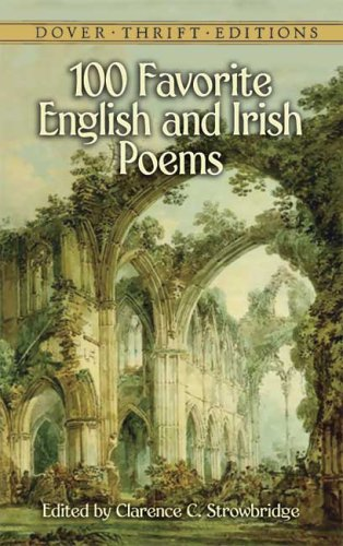 100 Favorite English and Irish Poems   2006 edition cover
