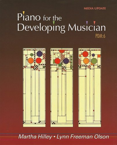 Piano for the Developing Musician, Update  6th 2010 edition cover