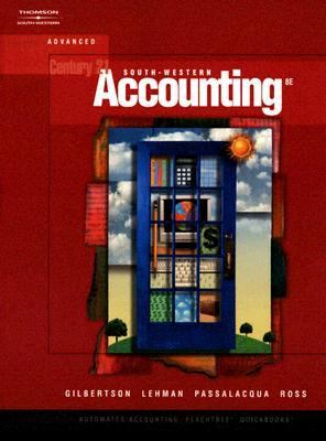 Century 21 Accounting Advanced  8th 2006 (Revised) edition cover