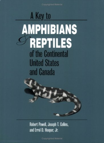 Key to Amphibians and Reptiles of the Continental United States and Canada  N/A edition cover