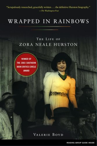 Wrapped in Rainbows The Life of Zora Neale Hurston  2003 edition cover