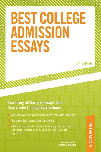 Best College Admission Essays 3rd 9780768917291 Front Cover