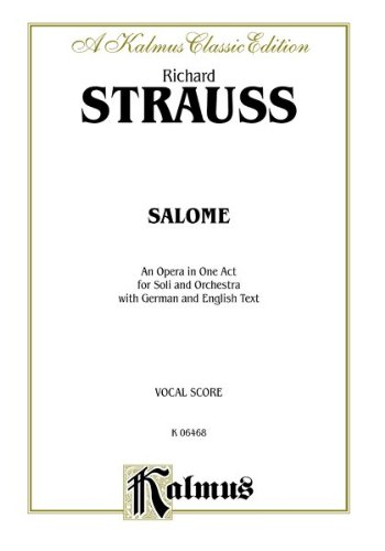Salome   1985 edition cover