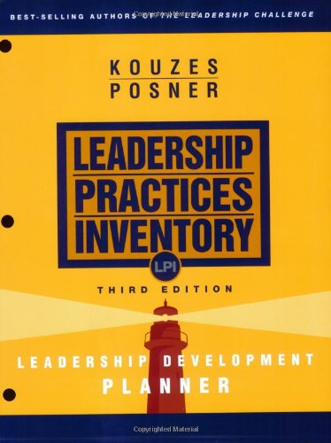 Leadership Practices Inventory (LPI) Leadership Development Planner 3rd 2002 (Revised) edition cover