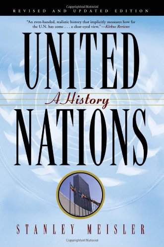 United Nations A History N/A 9780802145291 Front Cover