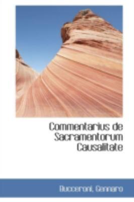 Commentarius De Sacramentorum Causalitate:   2009 edition cover