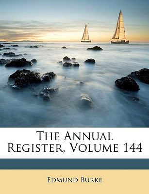 Annual Register  N/A edition cover
