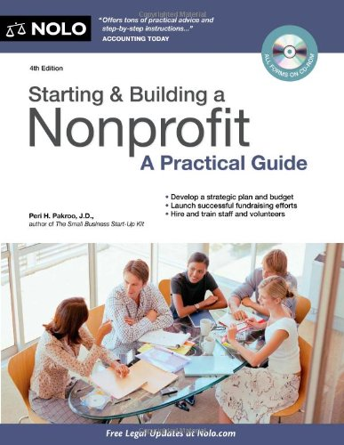 Starting and Building a Nonprofit A Practical Guide 4th 2011 (Revised) edition cover