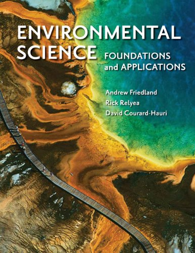 Environmental Science: Foundations and Applications   2012 edition cover