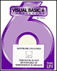 Visual Basic 6 Coursebook  4th 1999 (Revised) 9781576760291 Front Cover