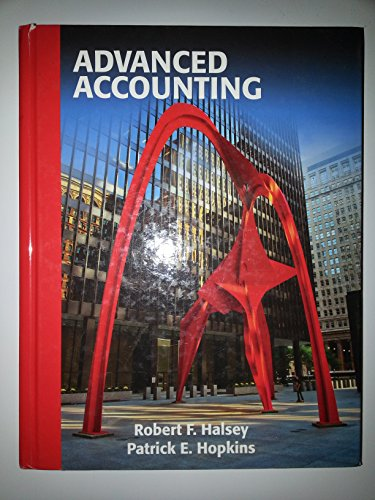 Advanced Accounting  2nd 2012 edition cover
