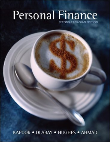 PERSONAL FINANCE-TEXT >CANADIA 2nd 2003 edition cover