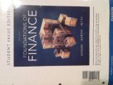 Foundations of Finance: Student Value Edition  2013 edition cover