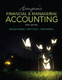 Horngren's Financial and Managerial Accounting  5th 2016 edition cover