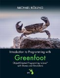 Introduction to Programming with Greenfoot Object-Oriented Programming in Java with Games and Simulations 2nd 2016 edition cover