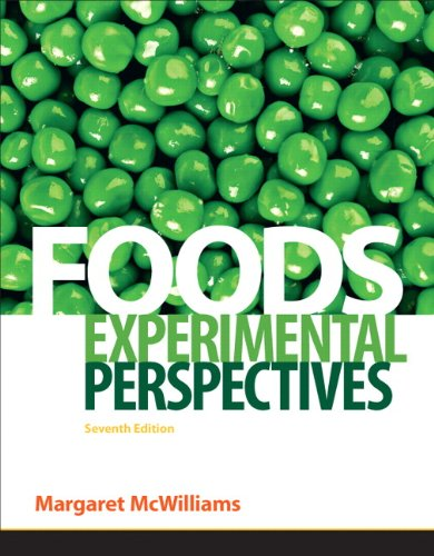 Foods Experimental Perspectives 7th 2012 edition cover