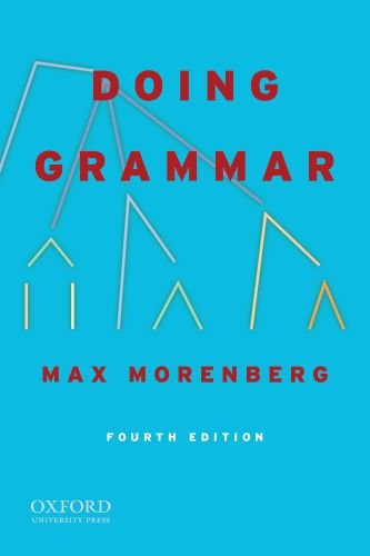 Doing Grammar  4th 2009 edition cover