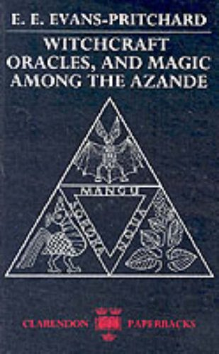 Witchcraft, Oracles and Magic among the Azande   1976 (Abridged) edition cover