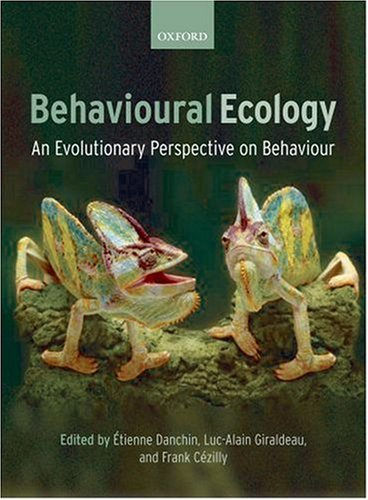 Behavioural Ecology   2007 9780199206292 Front Cover