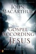 Gospel According to Jesus What Is Authentic Faith? 20th 2008 edition cover