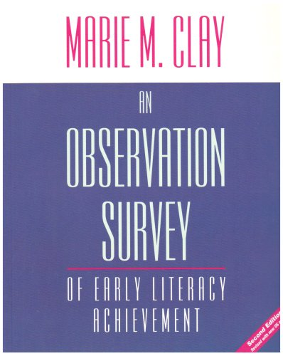 Observation Survey of Early Literacy Achievement  2nd 2006 (Revised) edition cover