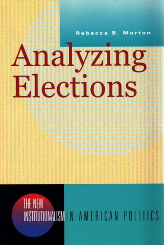 Analyzing Elections   2002 edition cover