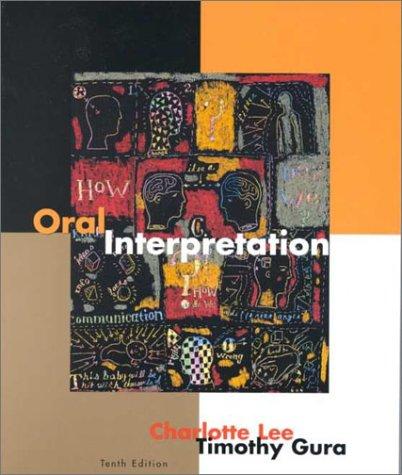 Oral Interpretation  10th 2001 edition cover