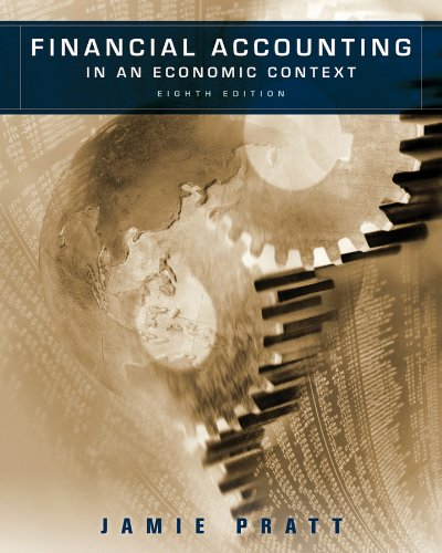 Financial Accounting in an Economic Context  8th 2011 edition cover
