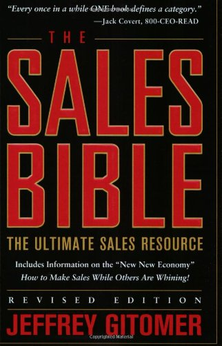 Sales Bible The Ultimate Sales Resource  2003 (Revised) edition cover