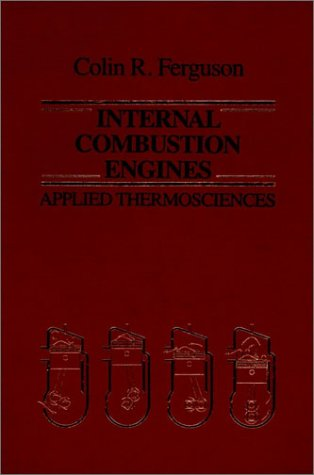 Internal Combustion Engines Applied Thermosciences 10th 1986 edition cover